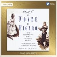 """Giuseppe Taddei/Philharmonia Orchestra/Carlo Maria Giulini Le nozze di Figaro, K. 492, Act 1 Scene 8: No. 9, Aria, """"Non più andrai, farfallone amoroso"""" (Figaro)"""