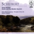 Dame Moura Lympany/Principals of the London Symphony Orchestra/Gabrieli Quartet Schubert Trout Quintet, Death and the Maiden Quartet