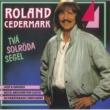 Roland Cedermark Två solröda segel