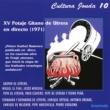 Various Artists Cultura Jonda X. XV Potaje gitano de Utrera en directo (1971)