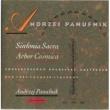 Andrzej Panufnik Sinfonia Sacra / Arbor Cosmica