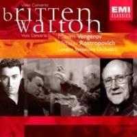 Maxim Vengerov/Mstislav Rostropovich/London Symphony Orchestra Viola Concerto: I. Andante comodo