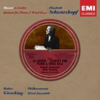 Elisabeth Schwarzkopf/Walter Gieseking Die Zufriedenheit, K.349 (2001 Remastered Version)