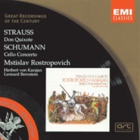 Mstislav Rostropovich/Ulrich Koch/Berliner Philharmoniker/Herbert von Karajan Don Quixote - fantastic variations for cello, viola & orchestra Op.35 (1998 Remastered Version): Variation IX: Schnell und stürmisch - The attack on the medicant friars
