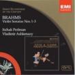 Vladimir Ashkenazy/Itzhak Perlman Brahms: Violin Sonatas Nos.1-3