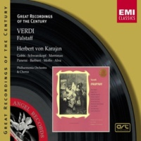 Elisabeth Schwarzkopf/Anna Moffo/Nan Merriman/Fedora Barbieri/Philharmonia Orchestra/Herbert von Karajan Falstaff, Act I, Scene Two: Falstaff m'ha canzonata (Alice/Meg/Nannetta/Quickly)