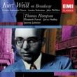 Thomas Hampson Kurt Weil On Broadway: Thomas Hampson