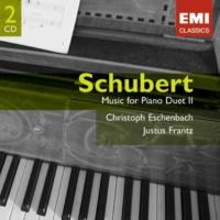 Christoph Eschenbach/Justus Frantz 4 Landler, D814 (1997 Remastered Version): No. 3 in C minor