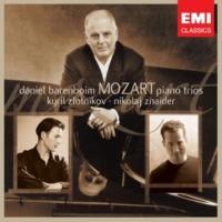 Daniel Barenboim/Nikolaj Znaider/Kyril Zlotnikov Piano Trio in C, K.548: III. Allegro