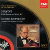 Mstislav Rostropovich/Academy of St Martin-in-the-Fields/Iona Brown Concerto for Cello and Orchestra No. 2 in D Major, Hob. VIIb:2 (Cadenzas: Mstislav Rostropovich) (1999 Remastered Version): II. Adagio