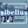 Nigel Kennedy/Sir Simon Rattle Sibelius: Symphony No. 5 & Violin Concerto