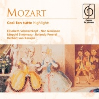 "Elisabeth Schwarzkopf/Nan Merriman/Rolando Panerai/Léopold Simoneau/Lisa Otto/Sesto Bruscantini/Philharmonia Orchestra/Herbert von Karajan Così fan tutte, K. 588, Act 1 Scene 9: No. 11, Recitativo accompagnato ed Aria, ""Ah, scostasti! … Smanie implacabili che m'agitate"" (Dorabella)"