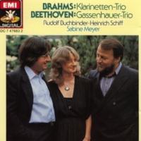 """Sabine Meyer/Rudolf Buchbinder/Heinrich Schiff Trio für Klavier, Klarinette und Violoncello B-dur op.11 """"Gassenhauer-Trio"""": I. Allegro con brio"""