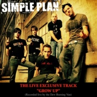 Simple Plan Grow Up (Live Burning Van Version)