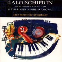 SCHIFRIN, LALO WITH RAY BROWN, GRADY TATE & THE LONDON PHILHARMONIC Blues In The Bassment