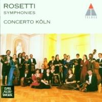 Concerto Köln Rosetti : Symphony in E flat major Kaul I,23 : III Andante