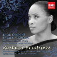 Barbara Hendricks/Peter Schreier/Kammerorchester 'C. P. E. Bach' Berlin Cantata No. 202 'Weichet nur, betrübte Schatten' (Wedding Cantata), BWV202: Recit: Drumsucht auch Amor (S)