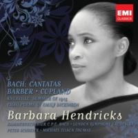 Barbara Hendricks/Peter Schreier/Kammerorchester 'C. P. E. Bach' Berlin Cantata No. 202 'Weichet nur, betrübte Schatten' (Wedding Cantata), BWV202: Aria: Weichet nur, betrübte Schatten (S)
