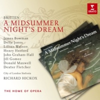"James Bowman/Lillian Watson/Dexter Fletcher/Norman Bailey/Penelope Walker/John Graham-Hall/Henry Herford/Della Jones/Jill Gomez/Donald Maxwell/Roger Bryson/Adrian Thompson/Andrew Gallacher/Robert Horn A Midsummer Night's Dream, Op. 64, Act 1: ""Stay, thou thou kill me, sweet Demetrius"" (Helena, Demetrius, Lysander, Hermia)"
