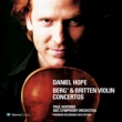 Daniel Hope Berg & Britten : Violin Concertos