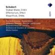 Sheila Armstrong, Hanna Schaer, Alejandro Ramirez, Philippe Huttenlocher, Michel Corboz & Lausanne Chamber Orchestra Schubert : Stabat Mater, Offertorium & Magnificat  -  Apex