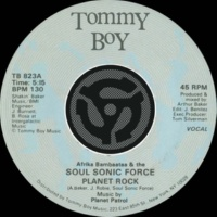 Afrika Bambaataa & The Soulsonic Force Planet Rock [Instrumental]