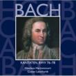 Various Artists Bach, JS : Sacred Cantatas BWV Nos 76 - 78