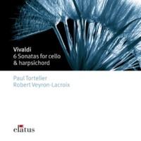 Paul Tortelier Cello Sonata No.6 in B flat major RV46 : I Largo