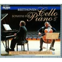 Arto Noras and Bruno Rigutto Sonata in D major Op.102 No.2 : II Adagio con molto sentimento d'affetto - Attacca :