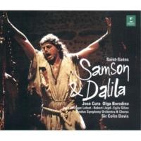 """Colin Davis Samson & Dalila : Act 1 """"L'as-tu donc oublié, celui dont la puissance"""" [Samson, Chorus]"""