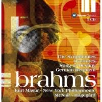"""Kurt Masur, Westminster Symphonic Choir & New York Philharmonic Orchestra Brahms : Ein deutsches Requiem Op.45 : III """"Herr, lehre doch mich"""""""