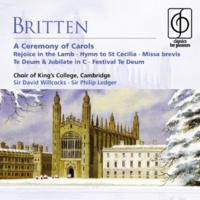 Choir of King's College, Cambridge/Osian Ellis/Sir David Willcocks/Julian Godlee/James Clark A Ceremony of Carols Op. 28 (2004 Remastered Version): IV: (b) Balulalow