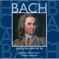 """Gustav Leonhardt Cantata No.90 Es reisset euch ein schrecklich Ende BWV90 : III Aria - """"So löschet im Eifer der rächende Ritter"""" [Bass]"""