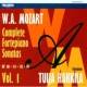 Tuija Hakkila W.A. Mozart : Complete Fortepiano Sonatas Vol. 1