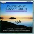 Margareta Haverinen and Jyväskylä Symphony Orchestra Kauneimmat kansanlaulut - The Most Beautiful Finnish Folk Songs