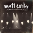 Matt Corby Live On The Resolution Tour (EP)