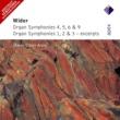 Marie-Claire Alain Widor : Organ Symphonies Nos 4 - 6 & 9, Organ Symphonies 1 - 3 [Excerpts]  -  Apex