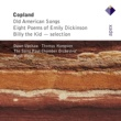Dawn Upshaw, Thomas Hampson, Hugh Wolff & Saint Paul Chamber Orchestra Copland : Old American Songs & 12 Poems of Emily Dickinson  -  Apex