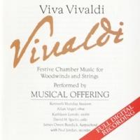 Musical Offering Vivaldi: Sonata in C Minor (F. XV, No. 2) - Adagio, Allegro, Andante, Allegro