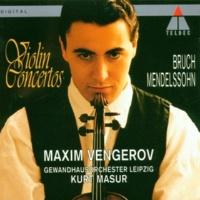 Maxim Vengerov Violin Concerto No. 1 in G Minor, Op. 26: II. Adagio