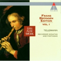 Frans Brüggen, Anner Bylsma & Gustav Leonhardt Telemann : Fantasia in D minor TWV40, 4 : I Largo