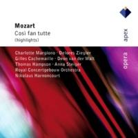 "Thomas Hampson, Nikolaus Harnoncourt & Royal Concertgebouw Orchestra Mozart : Così fan tutte : Act 1 ""Vorrei dir, e cor non hò"" [Don Alfonso]"