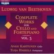 Karttunen, Anssi (Cello) and Hakkila, Tuija (Fortepiano) Beethoven: Complete Works for Cello and Fortepiano, Vol 3