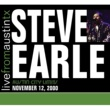 Steve Earle Live From Austin, TX '00
