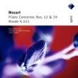 Maria-João Pires, Armin Jordan & Lausanne Chamber Orchestra Mozart : Piano Concertos Nos 12, 19 & Rondo  -  Apex