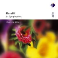 Concerto Köln Rosetti : Symphony in D major Kaul I,30 : III Menuet - Allegretto fresco - Trio I - Trio II - Menuet