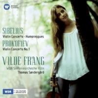 Vilde Frang/WDR Sinfonieorchester Köln/Thomas Søndergård Violin Concerto No. 1 In D Major Op. 19: II. Scherzo (Vivacissimo)