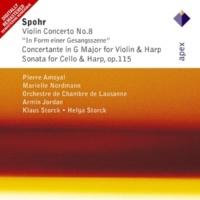 Helga & Klaus Storck Sonata for Cello & Harp in G major Op.115 : II Larghetto
