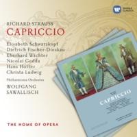 """Philharmonia Orchestra Capriccio, Op. 85: """"Kein Andres, das mir so im Herzen loht...Bravo, bravo! Sie sind wirklich kein Laie"""" (Graf, Clairon, Direktor)"""