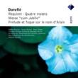Maurice Duruflé & Orchestre de l'Association des Concerts Lamoureux Duruflé : Sacred Vocal Works  -  Apex